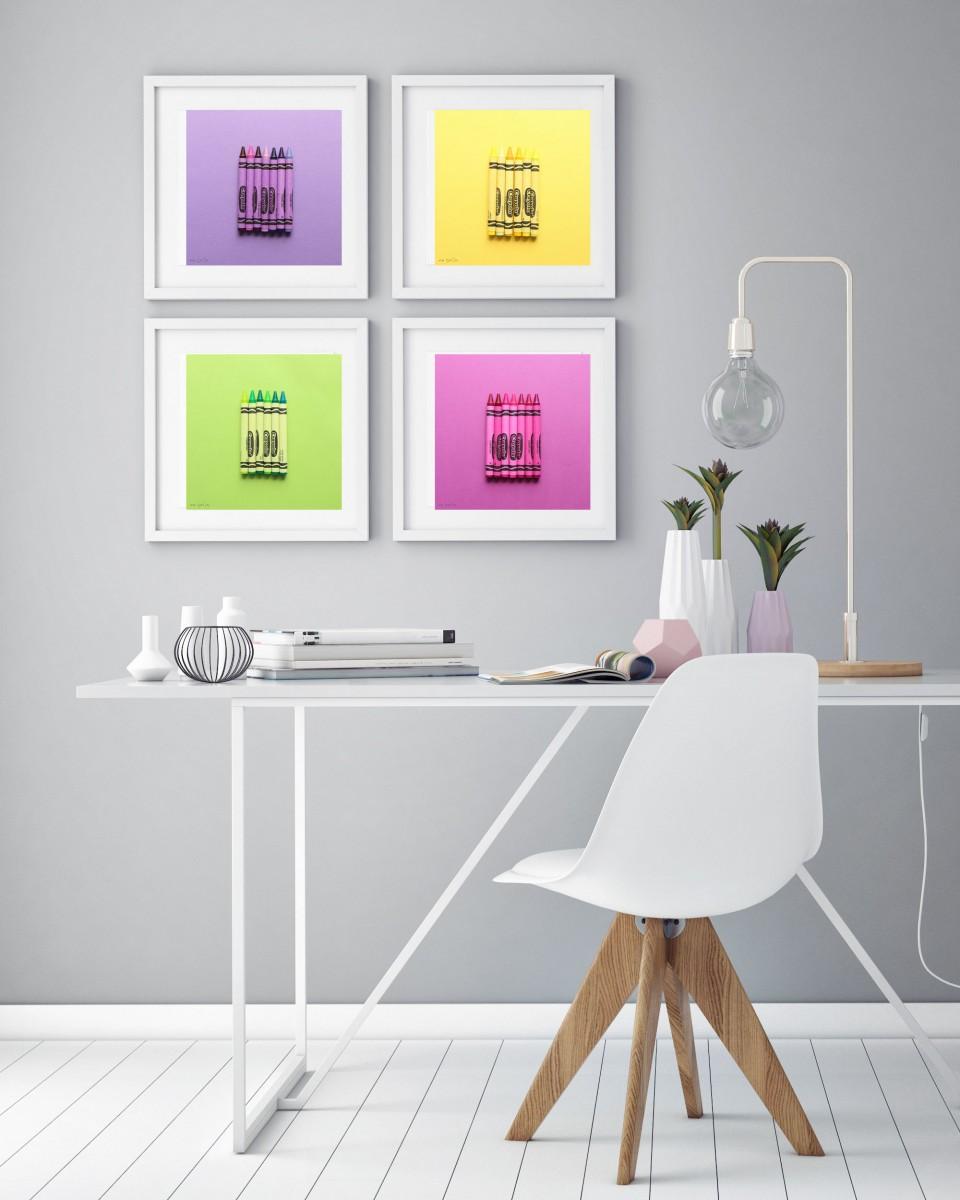 תמונות מעוצבת לבית, לחדרי ילדים ולמשרד